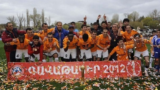 Fifth time lucky for Armenian Cup winners Shirak