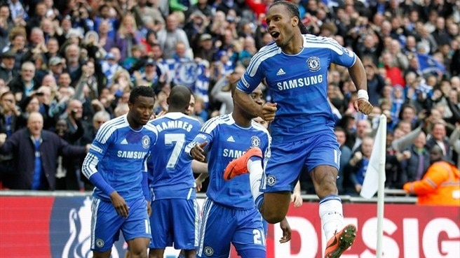 Humble Drogba proud as FA Cup history is made