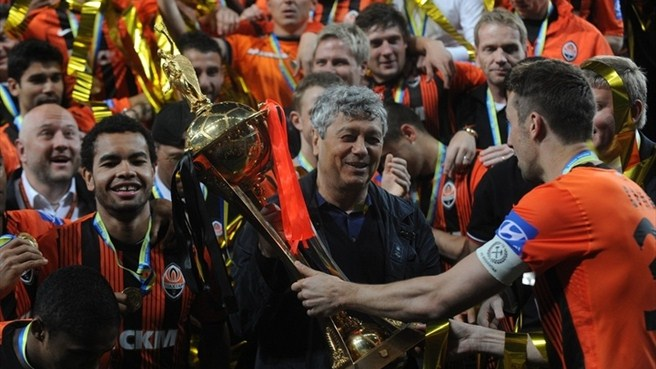 Shakhtar keep hold of Ukrainian Cup