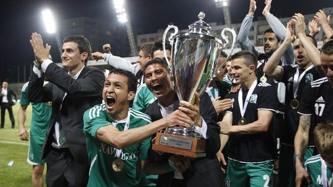 Ludogorets clinch maiden Bulgarian Cup