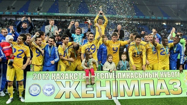 Astana defeat Irtysh to lift Kazakh Cup