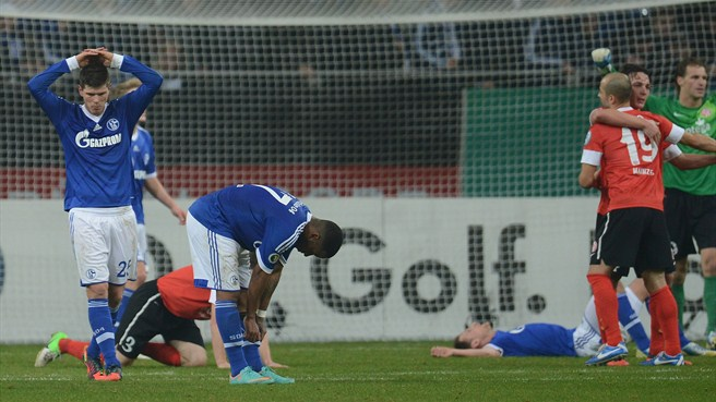 Klaas-Jan Huntelaar & Jefferson Farfán (FC Schalke 04)