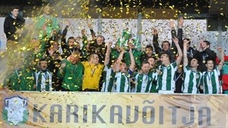 Flora beat Kalju to lift Estonian Cup