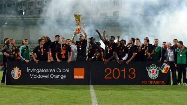Maiden Moldovan Cup for Tiraspol