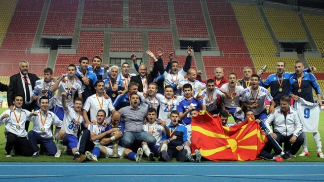 Relegated Teteks lift Macedonian Cup