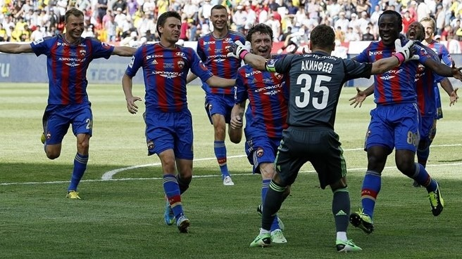 CSKA beat Zenit to round off hat-trick