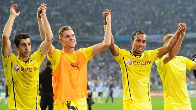 Dortmund prevail, Chelsea, City, Spurs win