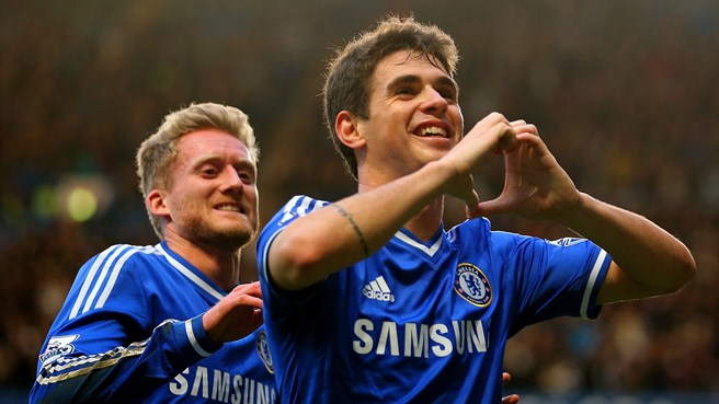 Oscar magic takes Chelsea through