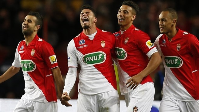 Monaco and Guingamp through to semi-finals