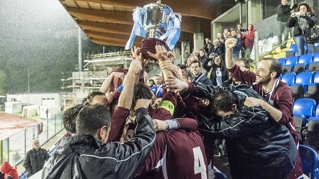 Libertas win the cup in San Marino