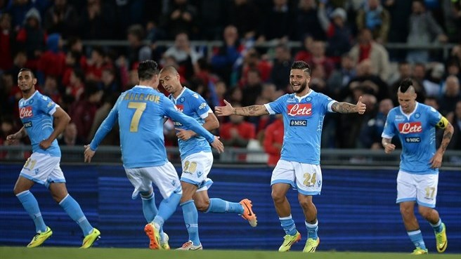 Insigne strikes twice as Napoli regain Coppa Italia