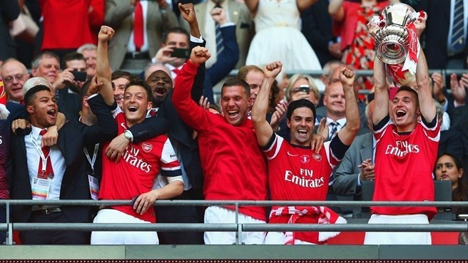 Ramsey wins FA Cup for relieved Arsenal