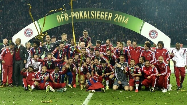 Bayern see off Dortmund to win German Cup