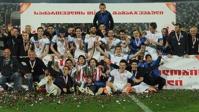 Ten-man Dinamo retain Georgian Cup
