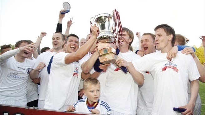 Jelgava prevail on penalties to win Latvian Cup