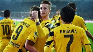BVB, Chelsea and Liverpool progress in cups