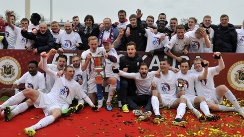 Ten-man Jelgava lift Latvian Cup