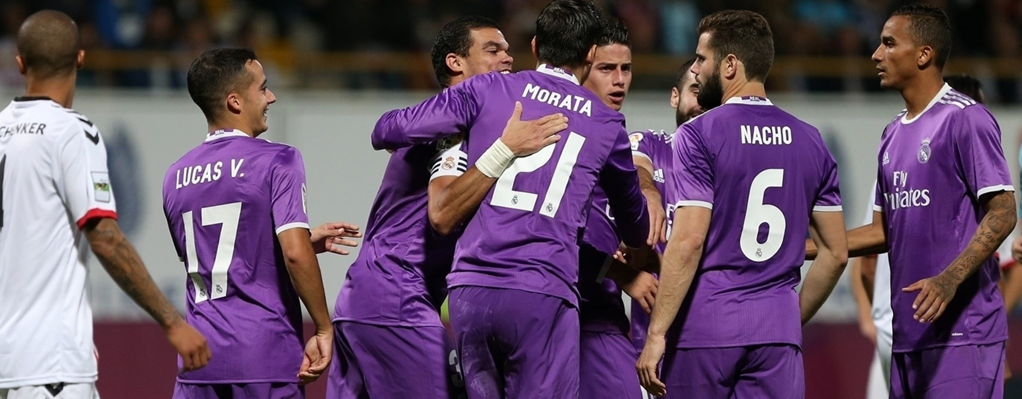 Real Madrid and København among resounding winners