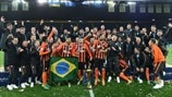 FC Shakhtar Donetsk celebrations