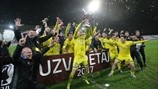 FK Ventspils celebrations