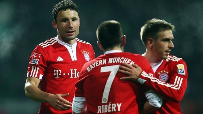 Bayern and Barça focus on the summit