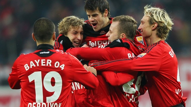 Leverkusen and Bayern locked at top