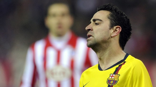 Xavi ruled out of Stuttgart decider