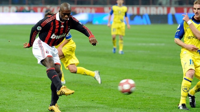 Seedorf strike reduces Inter lead