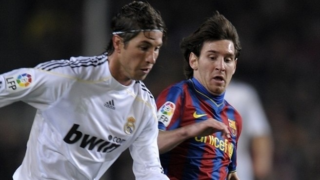 Stage set for 'El Clásico'