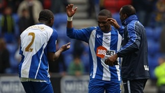 Wigan comeback floors Arsenal