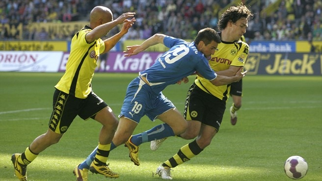 Dortmund denied as Hertha hopes fade