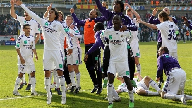 Anderlecht wrap up 30th Belgian title