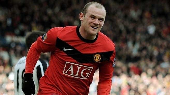 Rooney voted top player in England
