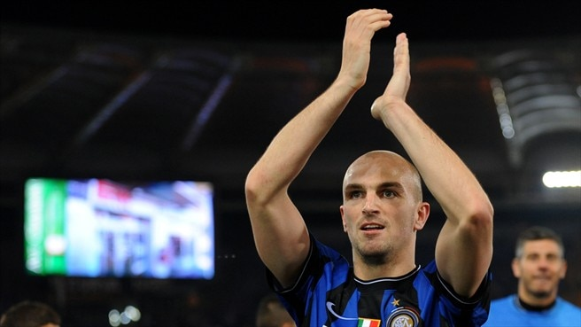 Emotions run high for Cambiasso