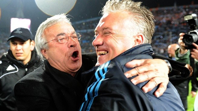 Deschamps lauded as OM rejoice