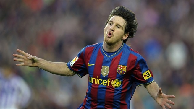 Messi takes scoring plaudits