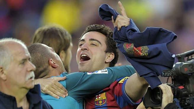 Xavi gives secrets of Barcelona's success