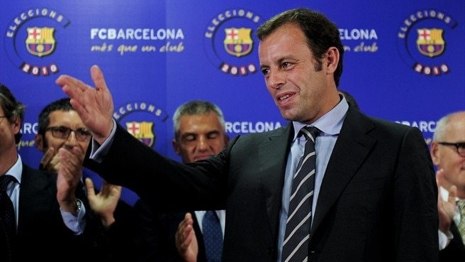 Rosell wins Barcelona presidential election