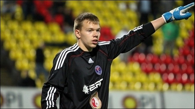 Vaslui swoop for keeper Černiauskas