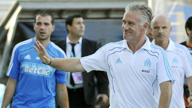 Deschamps named France's coach of the year