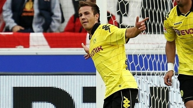 Dortmund fall under spell of prodigy Gotze