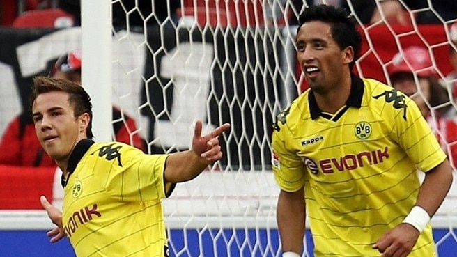 Barrios and Götze's Dortmund double act
