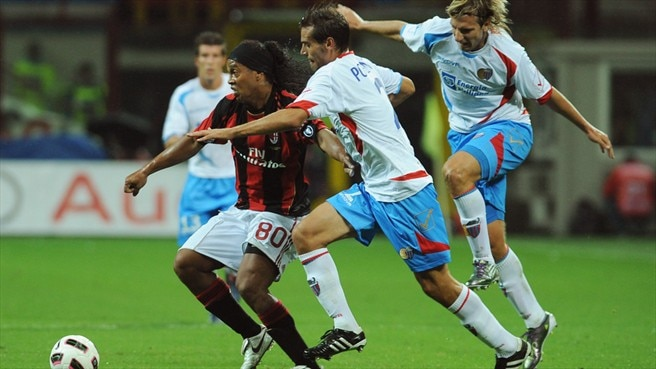 Milan fail to find spark against Catania