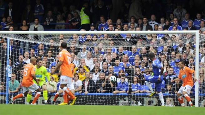 Free-scoring Chelsea cruise past Blackpool