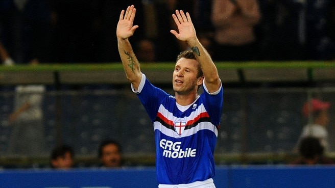 Milan confirm capture of Cassano