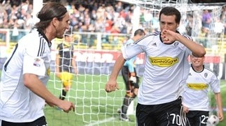 Cesena enjoying view from Serie A summit