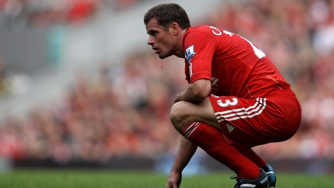 Liverpool lose Carragher for three months