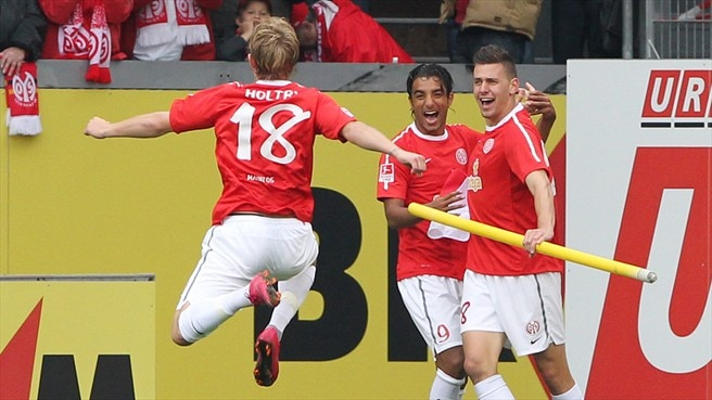 High-flying Mainz staying grounded