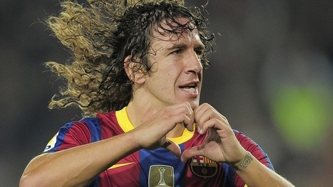 Carles Puyol to donate charity cheque to ICRC