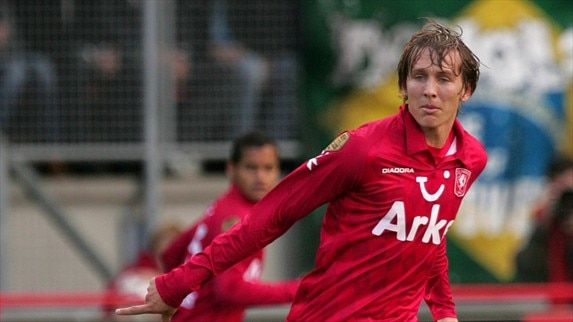De Jong's dream comes true at Twente